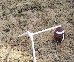 DIY Place Kicker Practice Tee