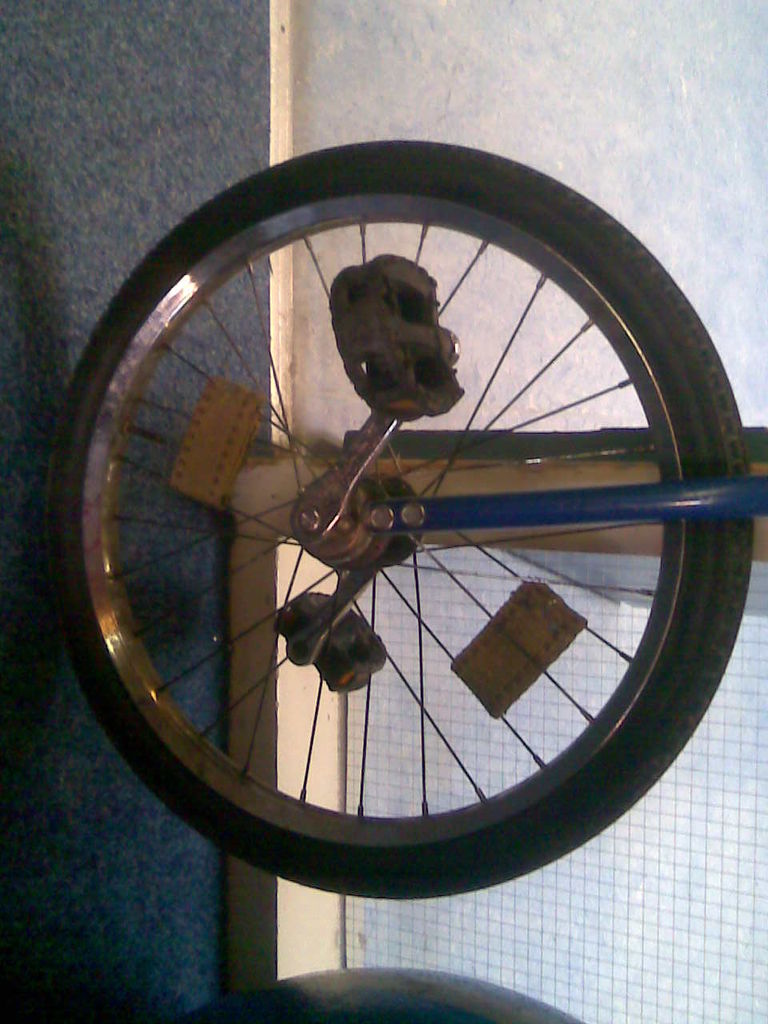 Picture of Fire Unicycle