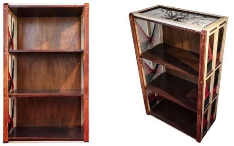Stylish Yet Simple Wooden Bookcase