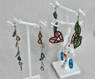 3D Print Earring Display