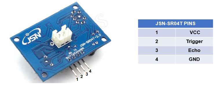 Picture of Sobre O Sensor JSN-SR04T