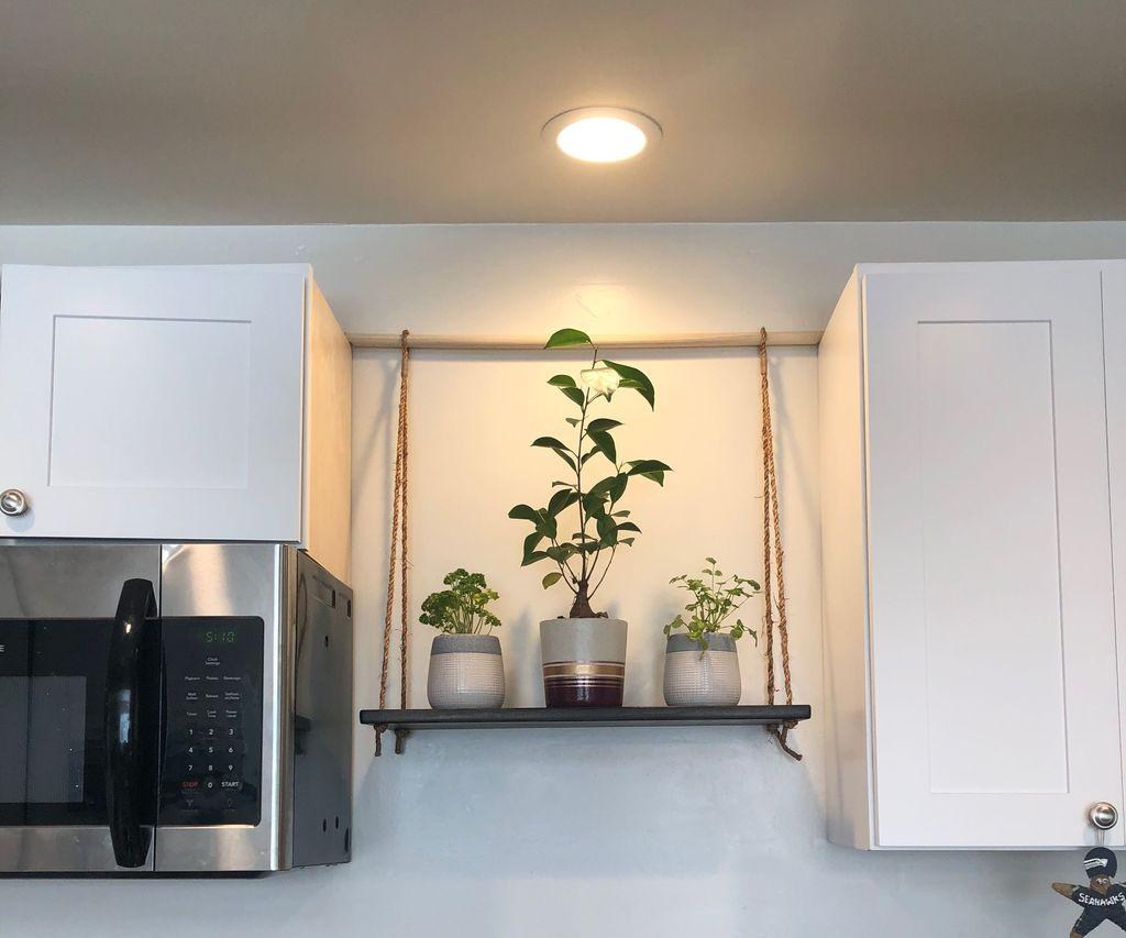 Hanging Kitchen Shelf