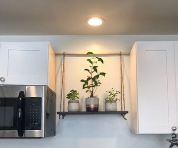 Hanging Kitchen Shelf
