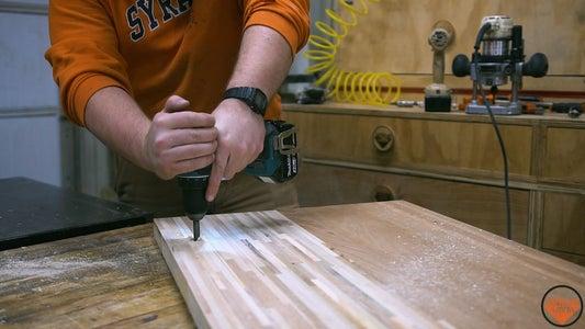 Fabricating the Pivot Hardware