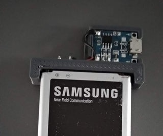 DIY Phone Battery Charger for Samsung S5 Neo, TP4056