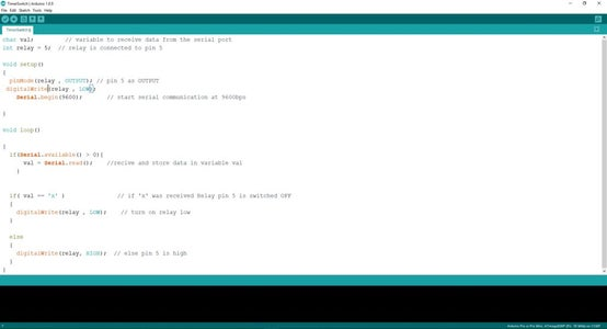 Creating Android App in MIT App Inventor and Programming Arduino Nano