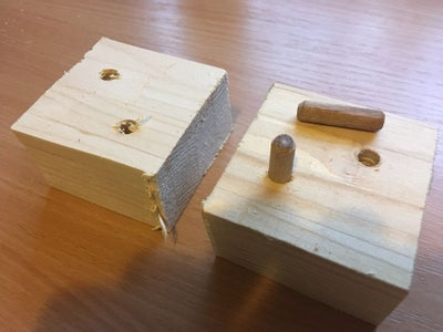 Holes and Sanding and Dowels