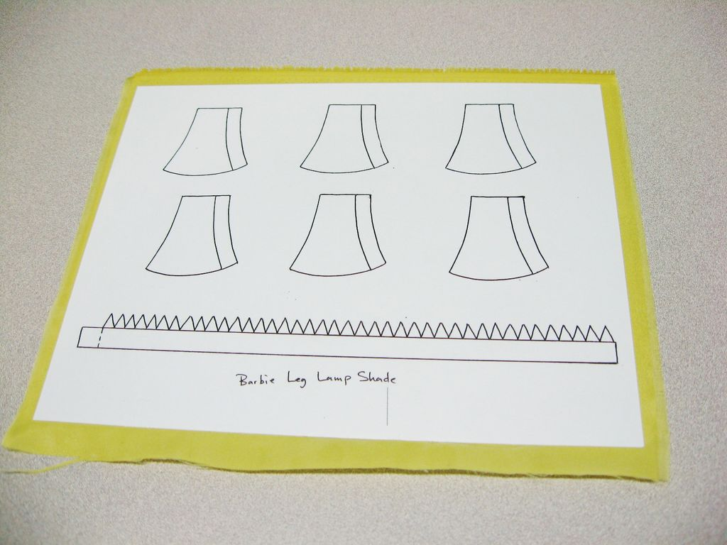 Picture of Lampshade Template