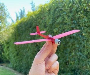 Card Stock Trainer Airplane [STEM Plane]