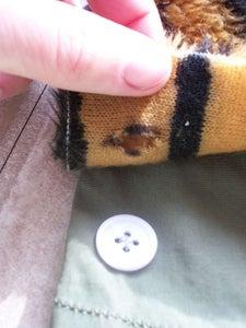 Reinforce Buttonholes