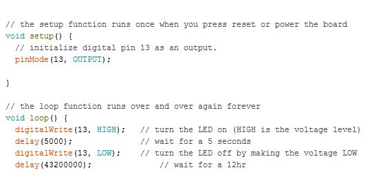 Picture of Arduino Code