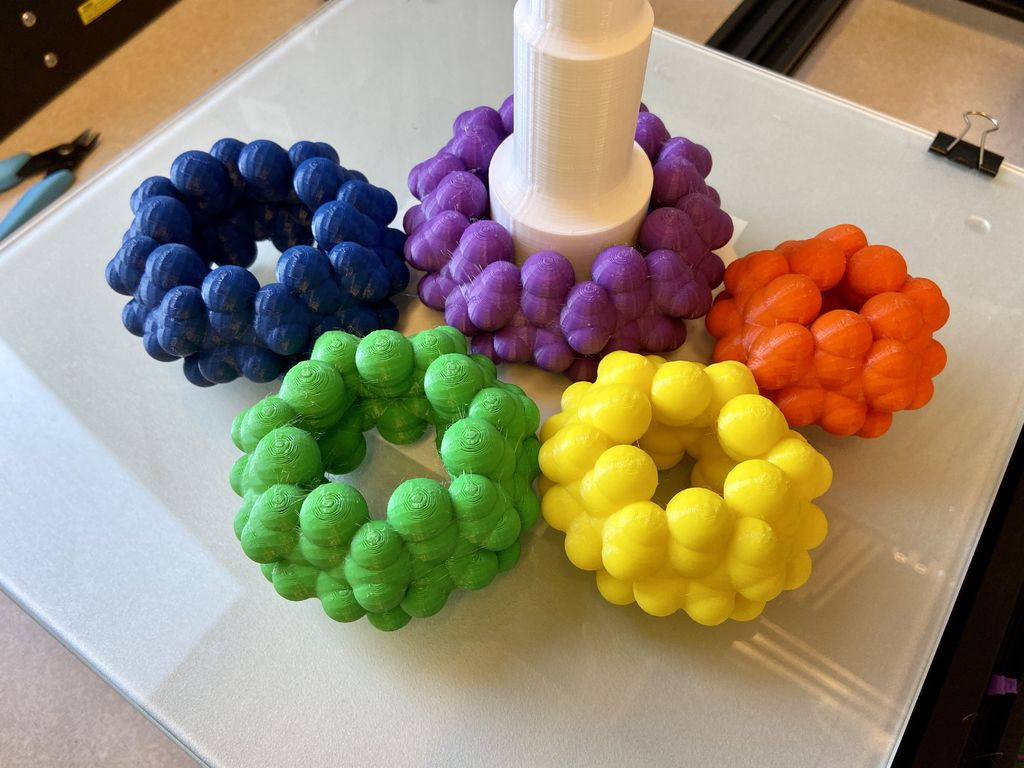 Picture of Molecular Stacking Rings