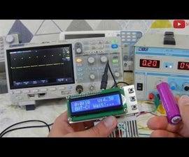 Battery Capacity Tester Using Arduino [Lithium-NiMH-NiCd]