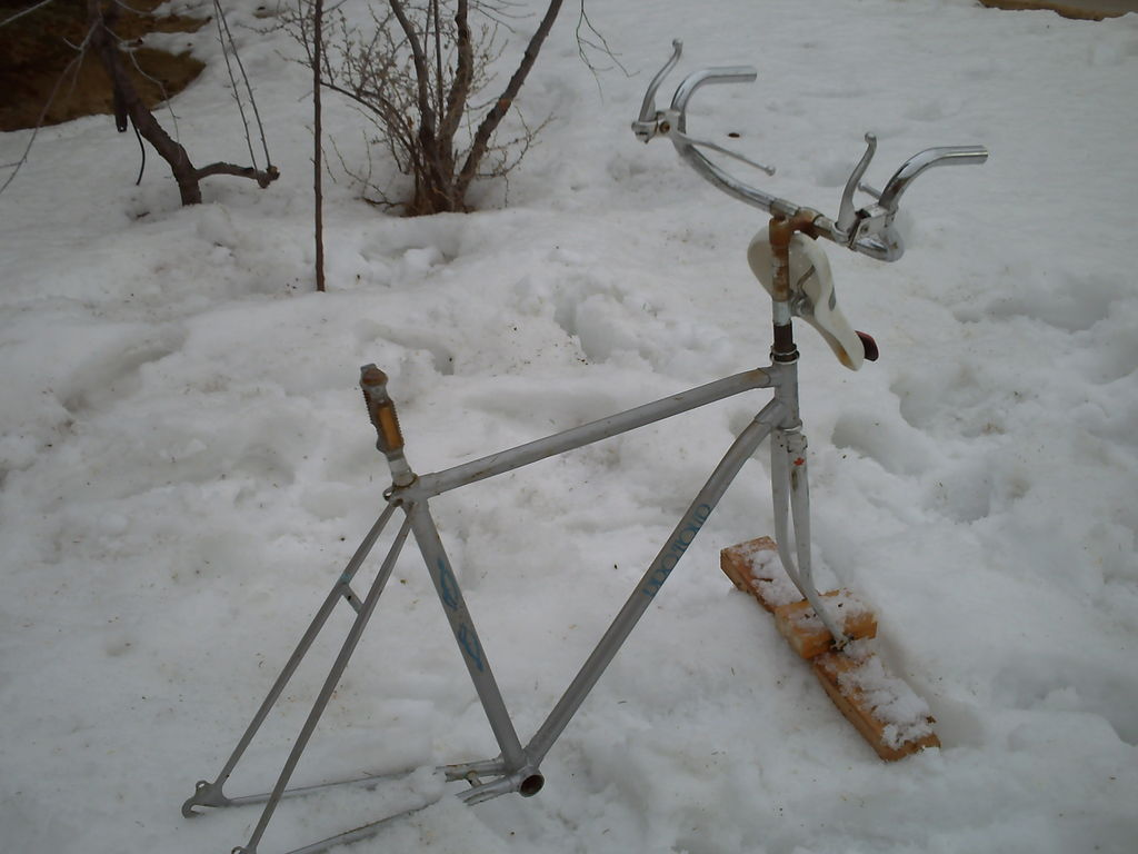 Picture of Make a Support for the Front Forks