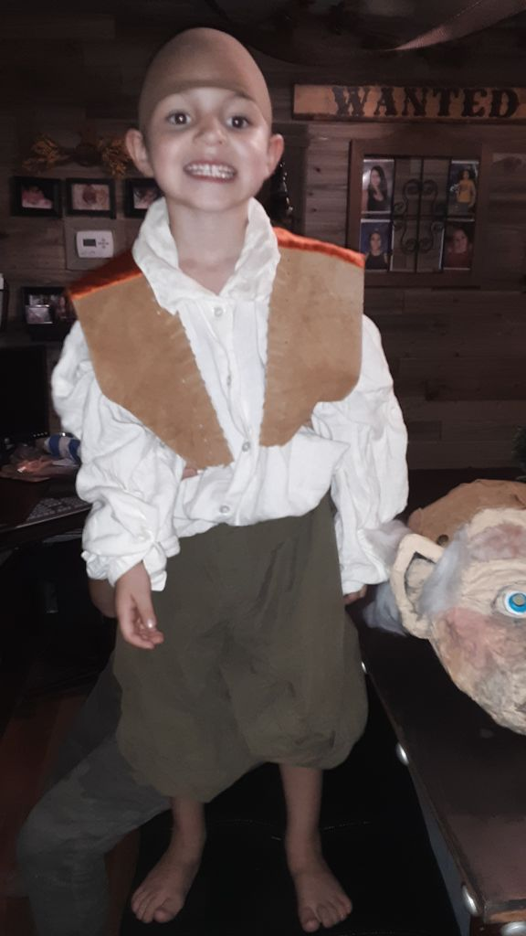 Picture of Hoggle Dwarf of Jim Hensens Labyrinth