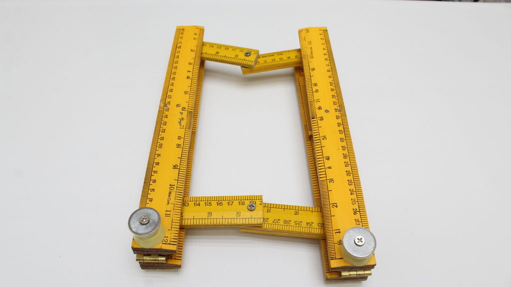 Picture of Foldable Laptop Stand - Using Wooden Rulers
