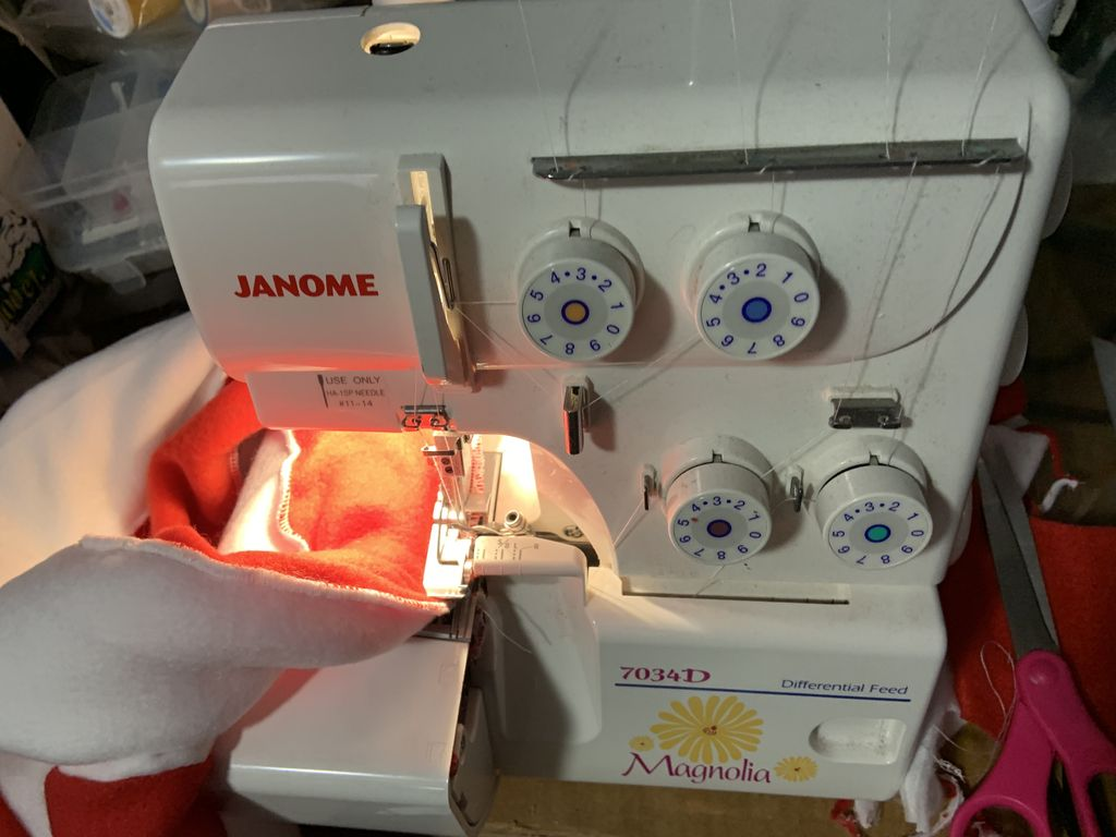 Picture of Sergers and Strips...