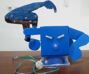 THE GREEDY MONEY SAVER ROBOT