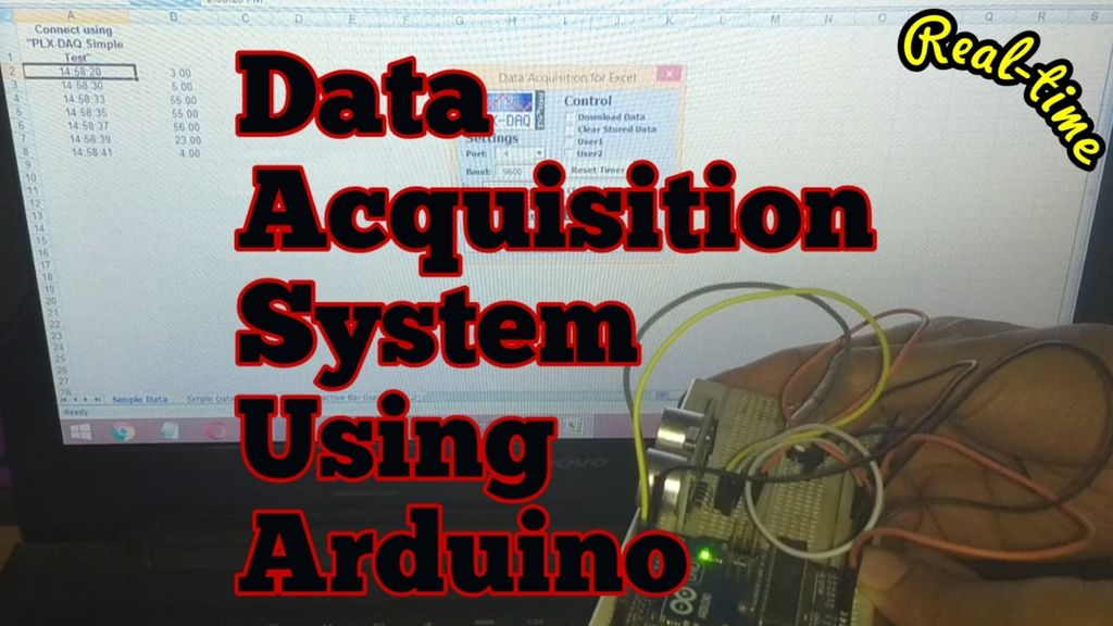 Picture of Real Time Data Acquisition System Using Arduino