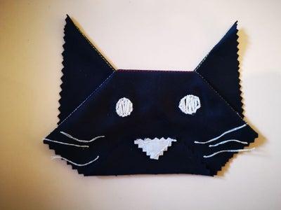 Cat Origami With Microfiber Cloth