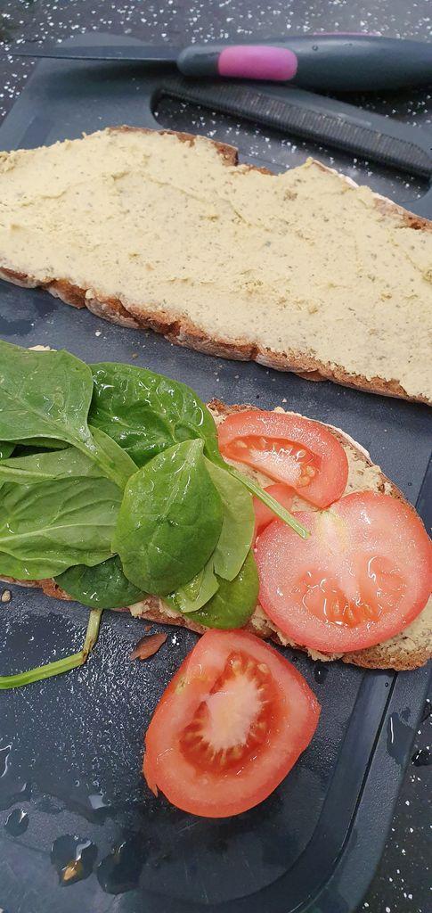 Picture of Pesto Hummus Sandwich