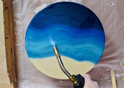 Create Resin Ocean Art Insert (optional)