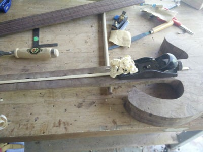 Install a Truss Rod and Fingerboard