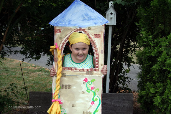 No-Sew Rapunzel Costume
