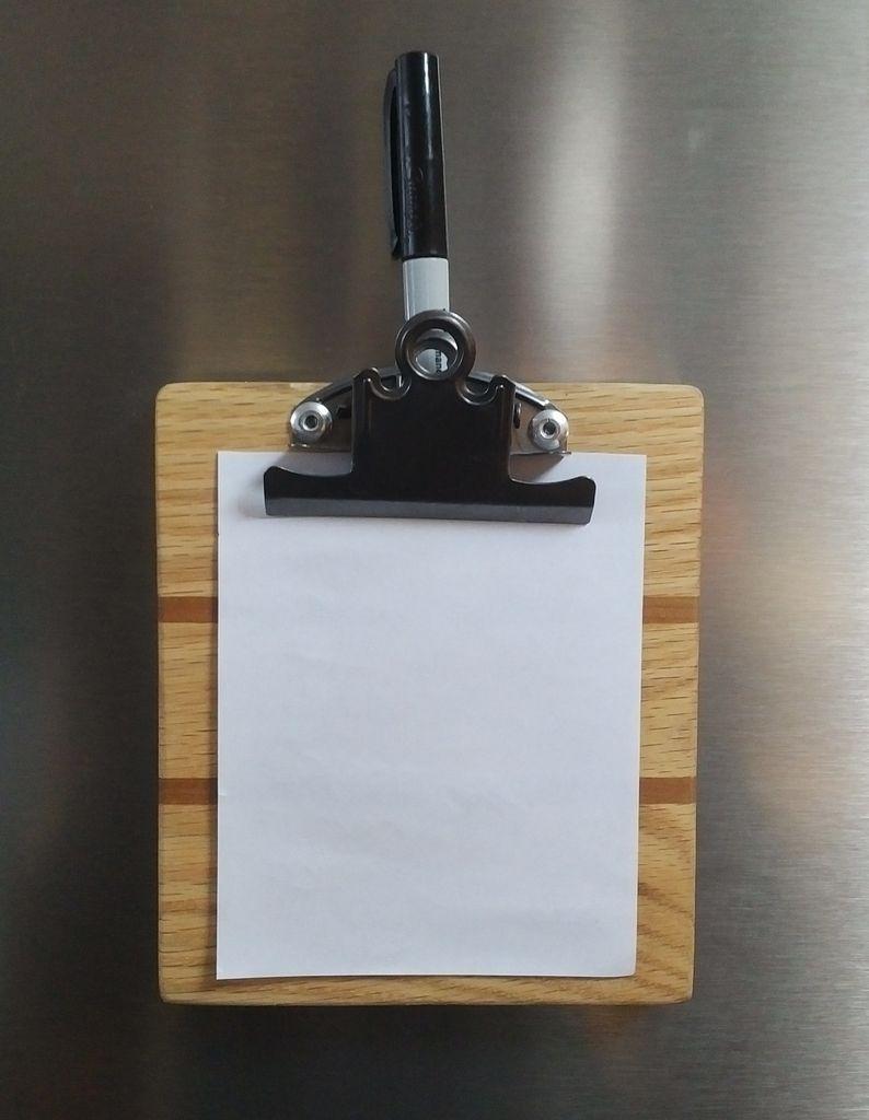 Picture of Scrap Wood Mini Clipboards