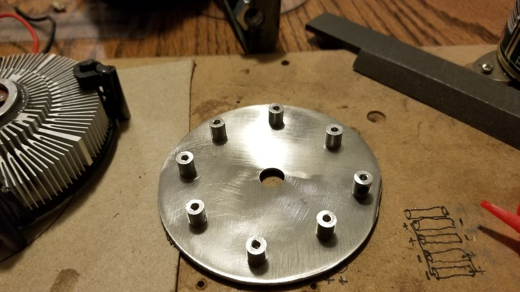 Picture of Mounting the Reflector and Base