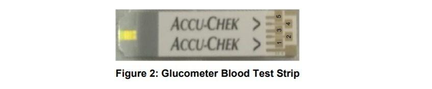 Glucometer Blood Test Strip