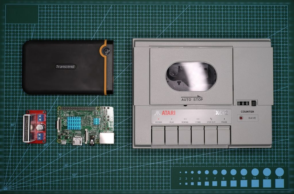 Picture of Atari XC12 Becomes Video Recorder
