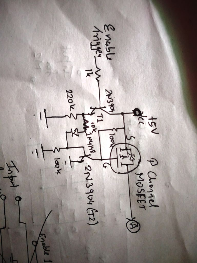 Picture of The Power Switching Circuit