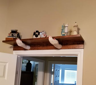 Mounting the Shelf