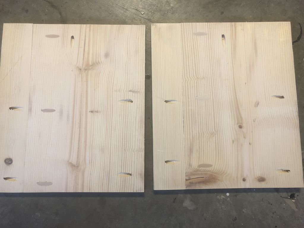 Picture of Cut Five 1x12s to 16.5 Inches