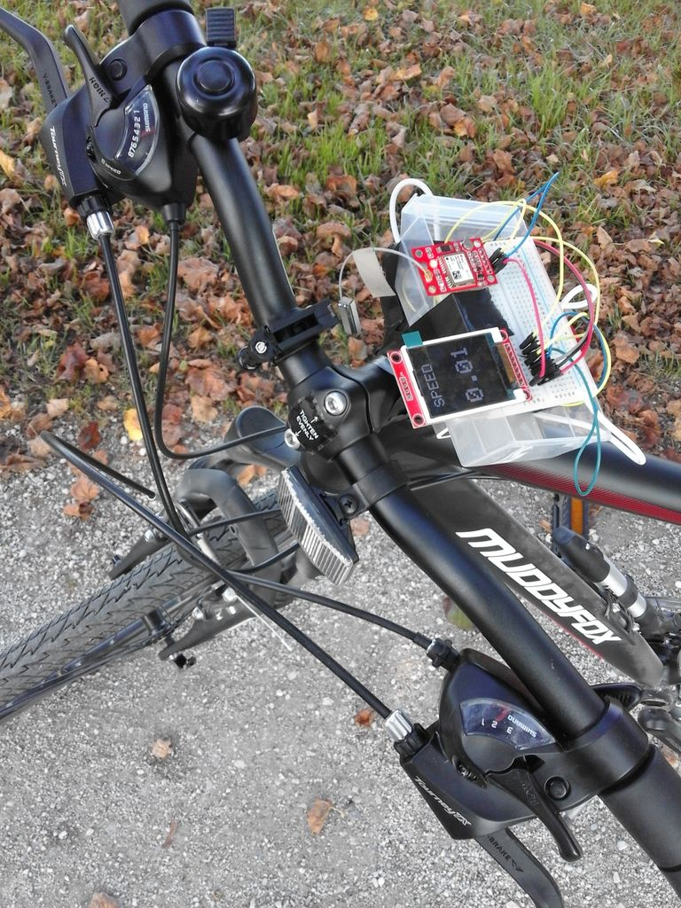 Picture of Arduino Bicycle Speedometer Using GPS