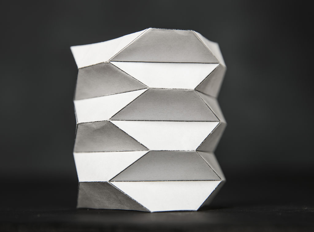 Picture of Origami Ballistic Barrier Paper Model