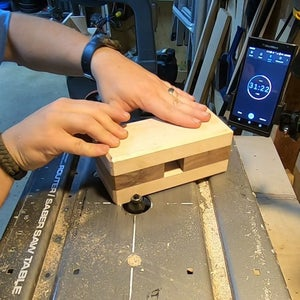 Adding and Chamfer and Sanding