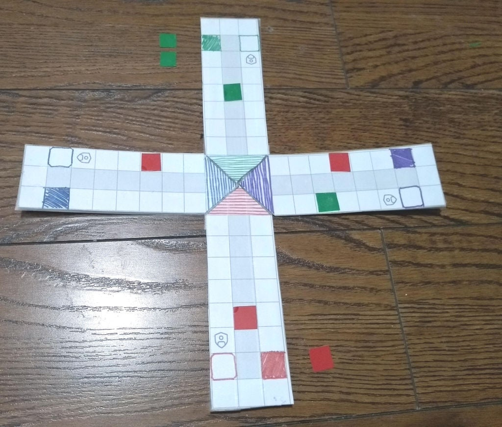 Picture of Make the Game of Ludo in 10 Mins From Scratch! ... Including the Pieces!
