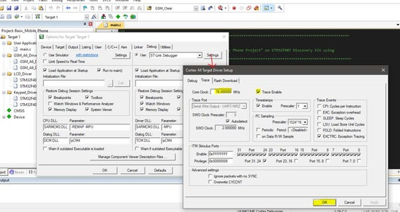 Configure ST-Link Debugger