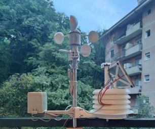 颗粒物联网光子个人气象站