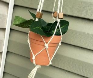 Macrame Plant Hanger for Beginners