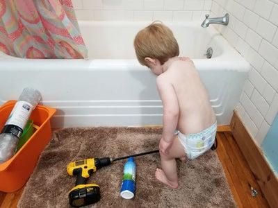 Super Bubble Bath Time!