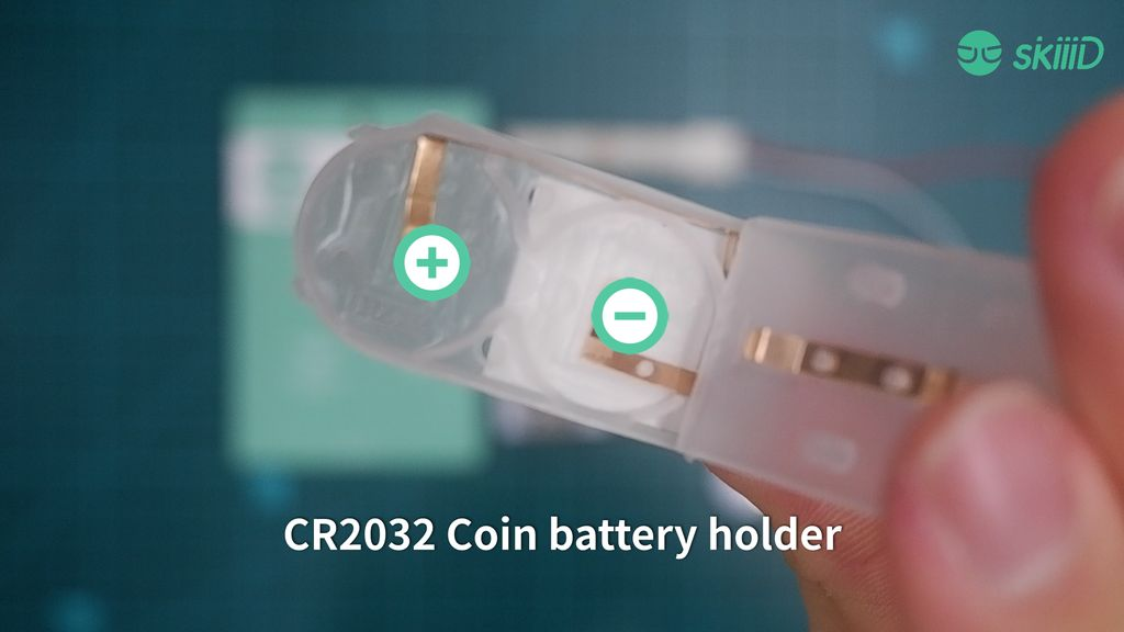 Picture of Put CR2032 Batteries Securely