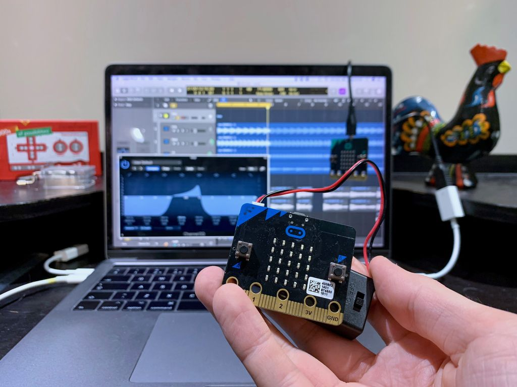 Picture of Microbit Midi CC Wireless Controller