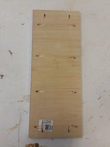 Shelves: Measurements - Board 1