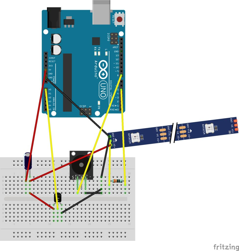 Picture of Arranging Sensors