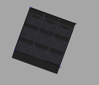 ZeroG Hydroponic 3x3 Planter(High School Entry)