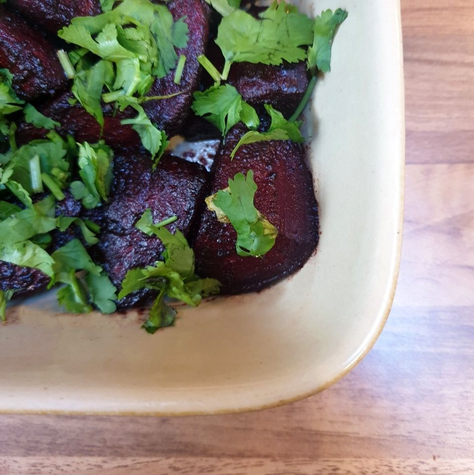 Picture of Delicious Spicy Roast Beetroot