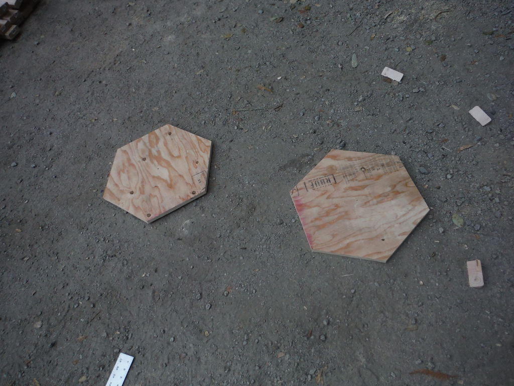 Picture of Cut Gusset Plates